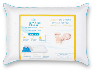The Water Pillow by Mediflow -  Elite Memory Foam