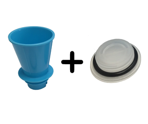 Replacement Care Pack (Funnel and Cap With O-Ring)