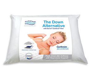 The Water Pillow by Mediflow - Floating Comfort (Down Alternative)
