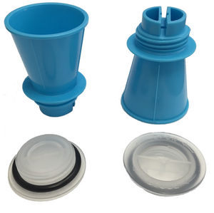 Waterbase Pillow Replacement Parts, Funnels & Caps | Mediflow