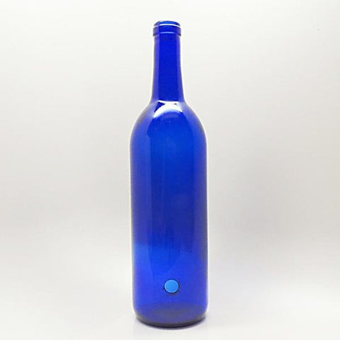 Smoking Genie Bottle <br>(Cobalt Blue)<br>Select Your Decal