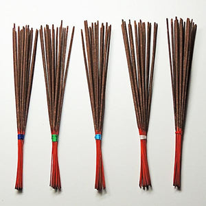 "11"" Natural Stick Incense (choose five scents) - Paradise Station"