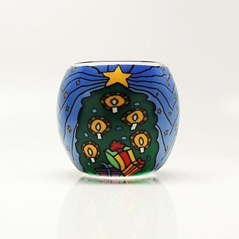 Christmas Tree Votive Candle Holder