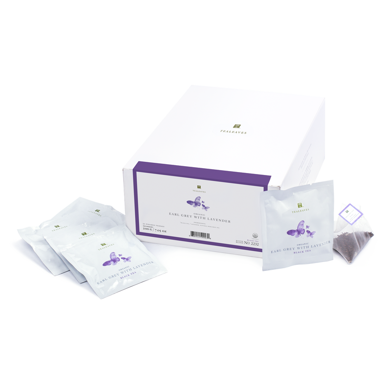 Organic Earl Grey with Lavender - 50 Count