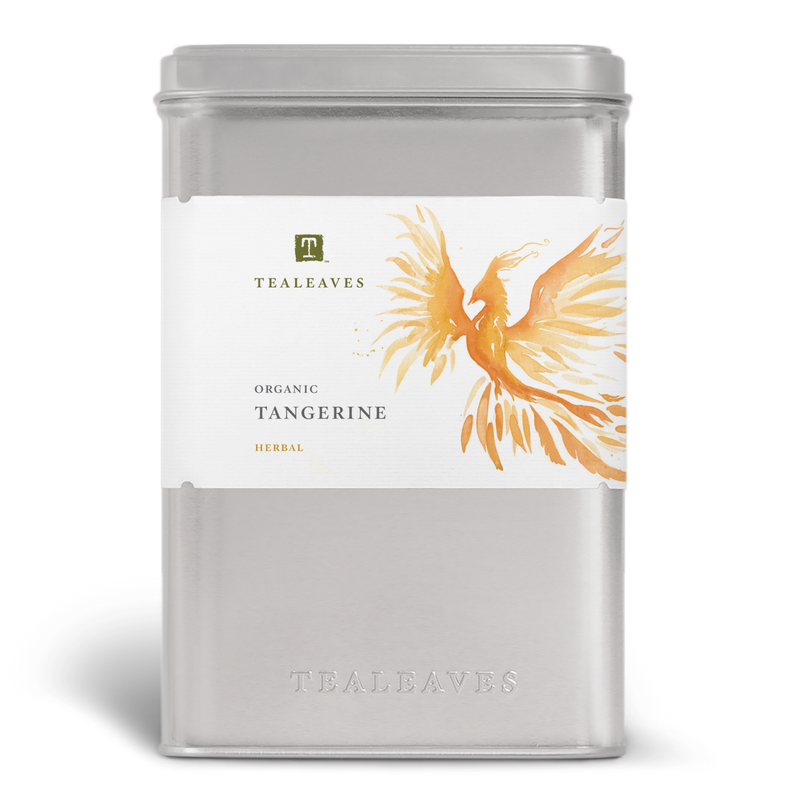 Organic Tangerine Wholesale Tin