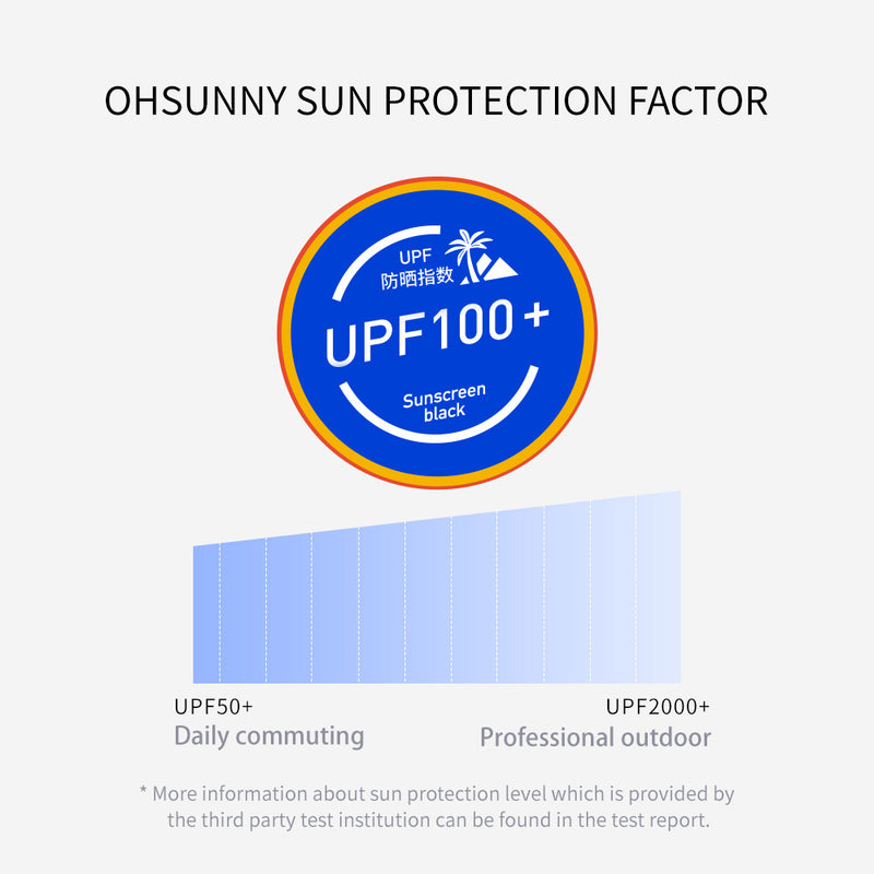 Women's Mid-Lenght Leisure and Sports Sun-Protection Clothing UPF50+