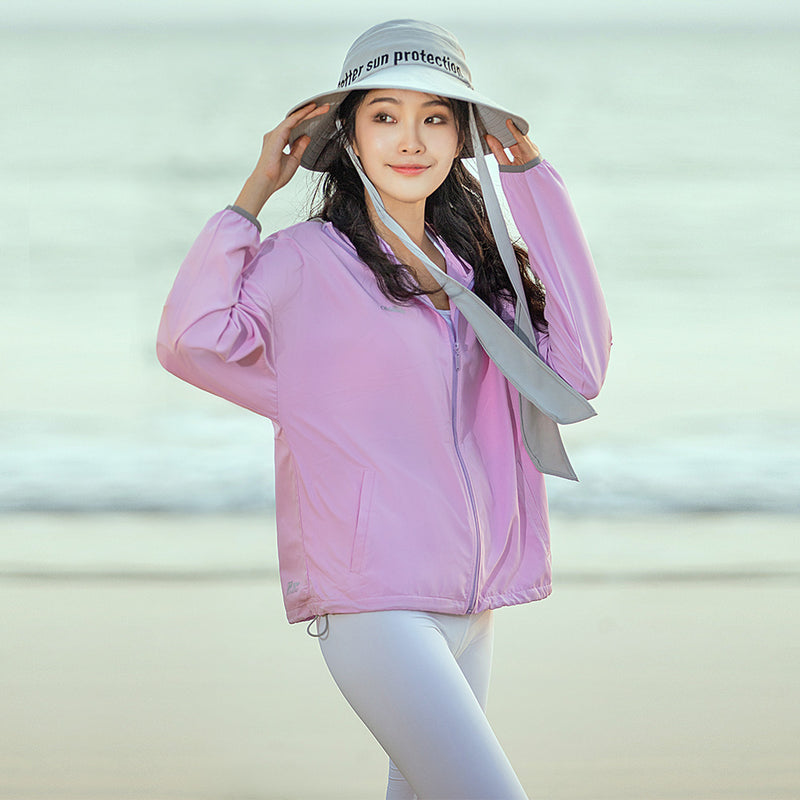 Women's Standard Stand Collar Sun-protective Hoodie UPF50+