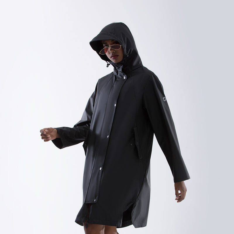 Women's Street Sunscreen Waterproof  Trench Coat UPF50+