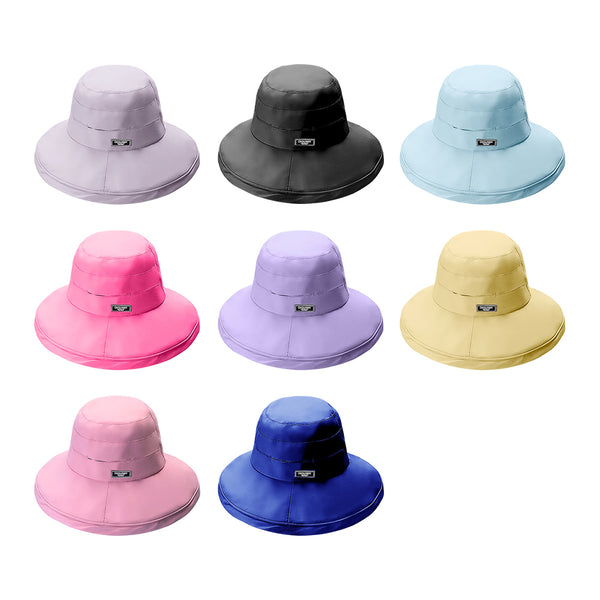 Women Seaside Bucket Sun Hat UPF 50+