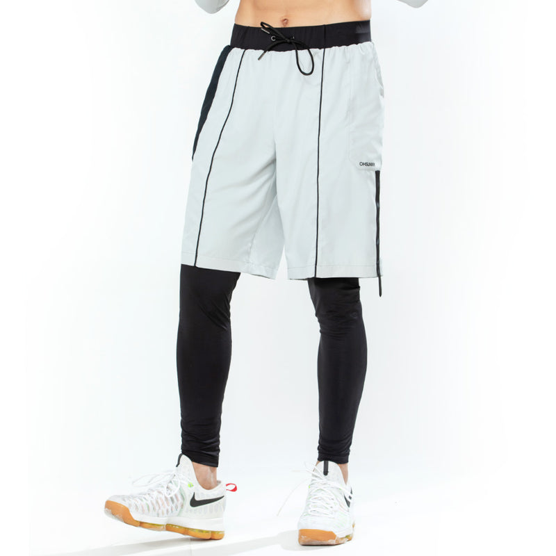 Men's Breathable False Two-Pieces Pants UPF50+