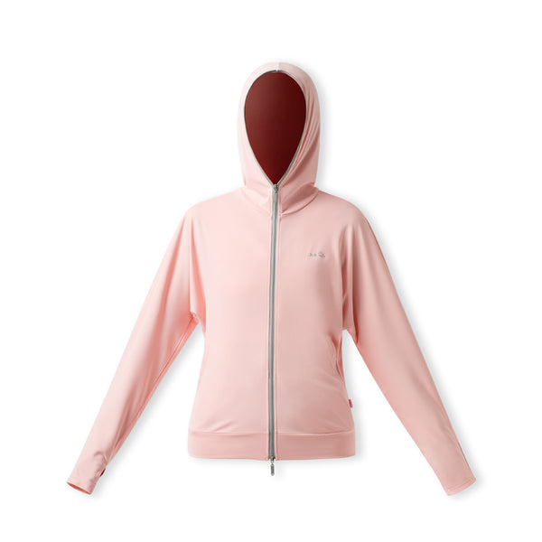 Women's Ultra Light Full Zip Sunscreen Hoodie UPF50+