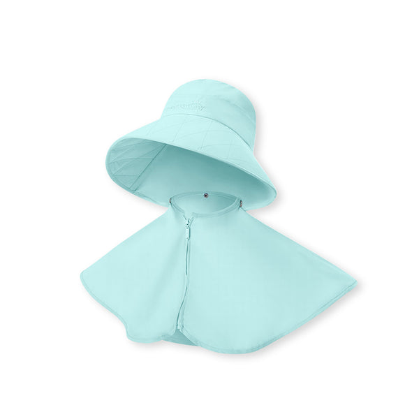 Women's Bucket Hat With Cloak UPF 50+