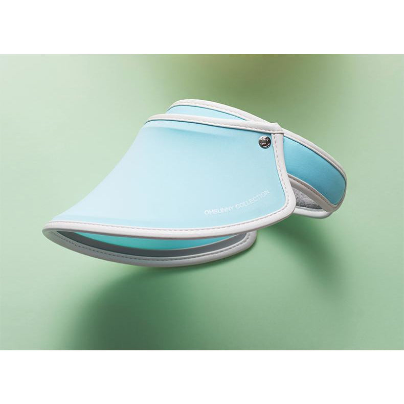 Blue Kid's Sun Visor UPF 50+