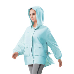 Women's Outdoor Loose Breathable Hoodie UPF 50+