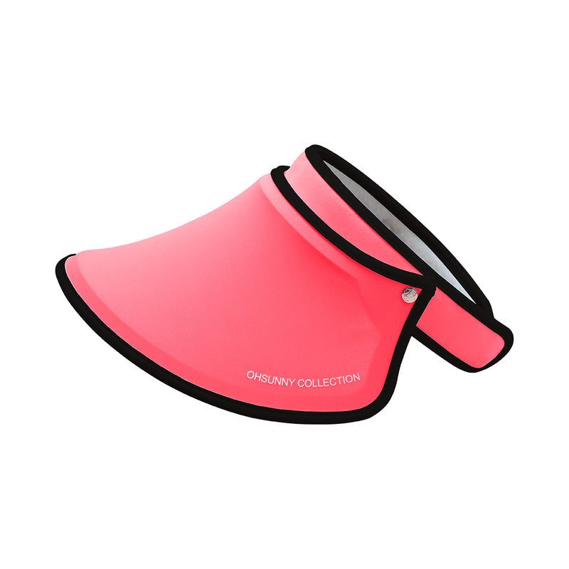 Red Kid's Sun Visor UPF 50+