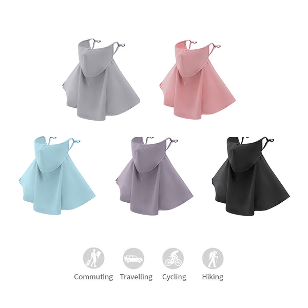Breathable Neck Protection Sunscreen Neck Gaiter UPF50+