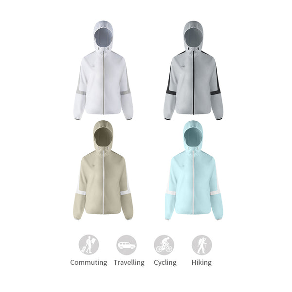 Women's Lightweight High Collar Sun-Protection Hoodie UPF50+