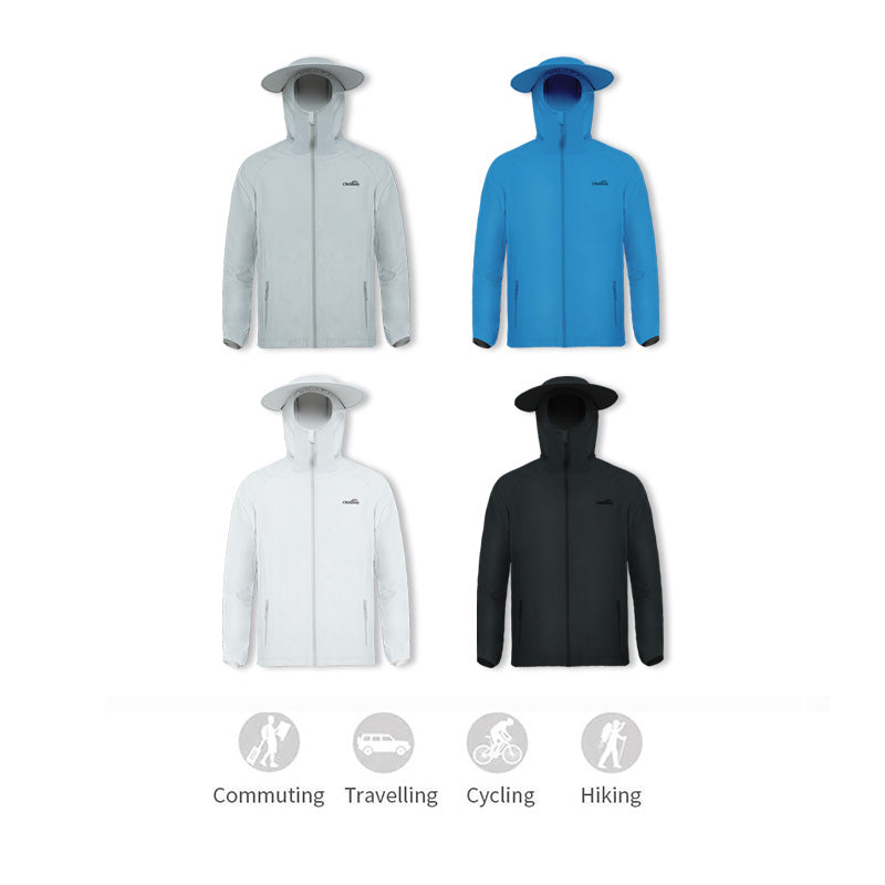 Men's Fishing Lightweight Sun-protective Hoodie UPF50+
