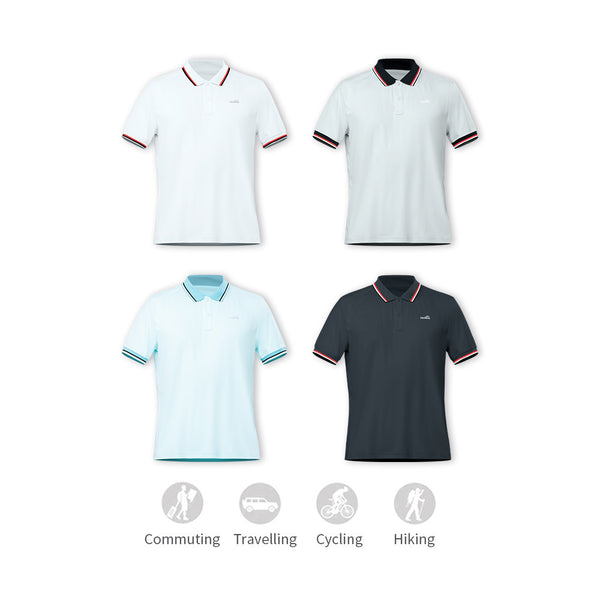Men's Ultra Light Sunscreen Polo UPF50+
