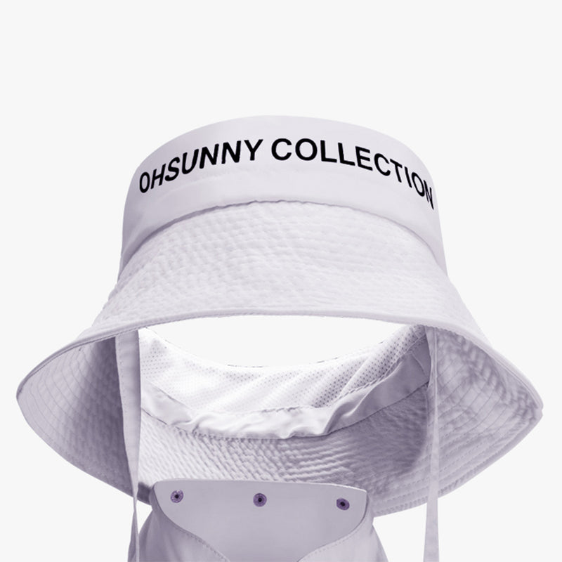 Boating Bucket Hat With Cloak UPF 50+
