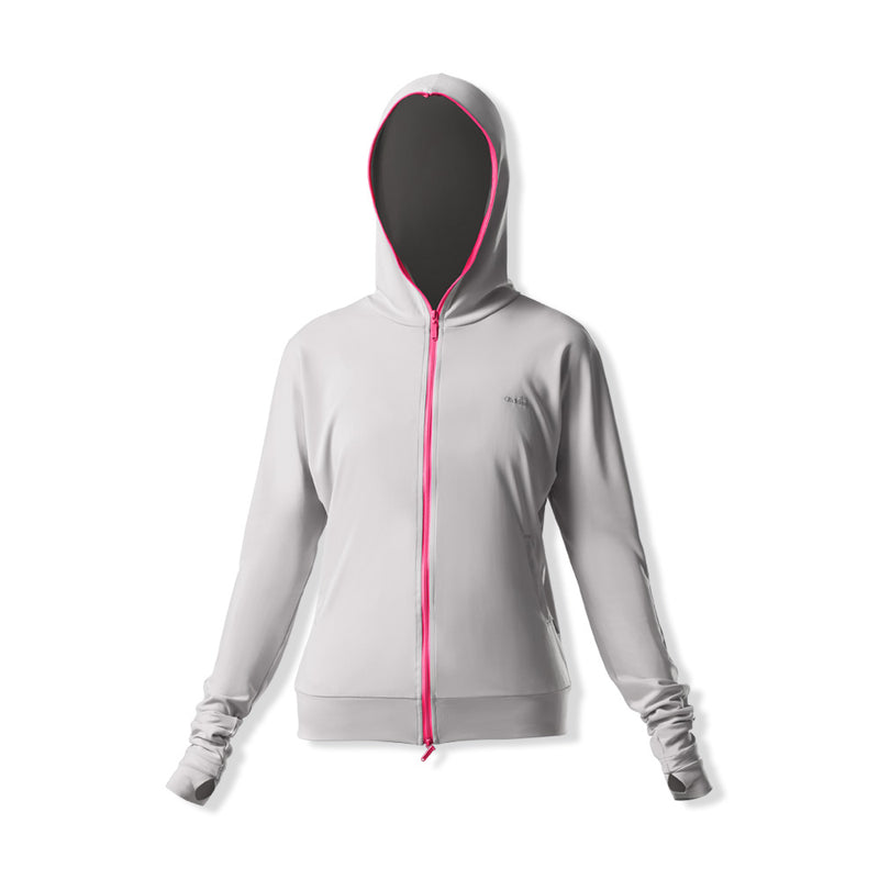 Women's Lightweight Full Zip Thumbholes Hoodie UPF50+