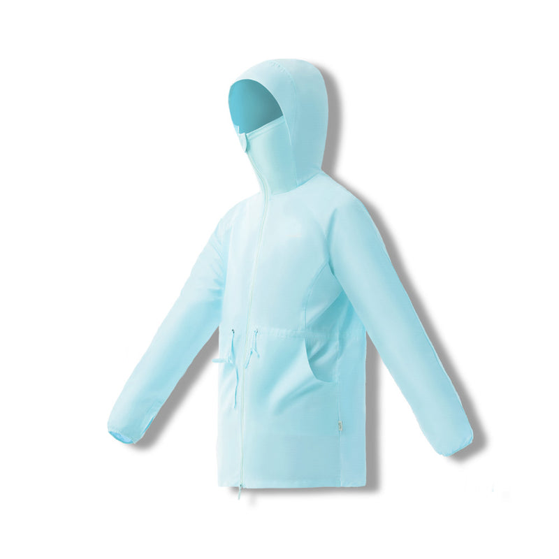 Women's Lightweight High Collar Hoodie UPF50+