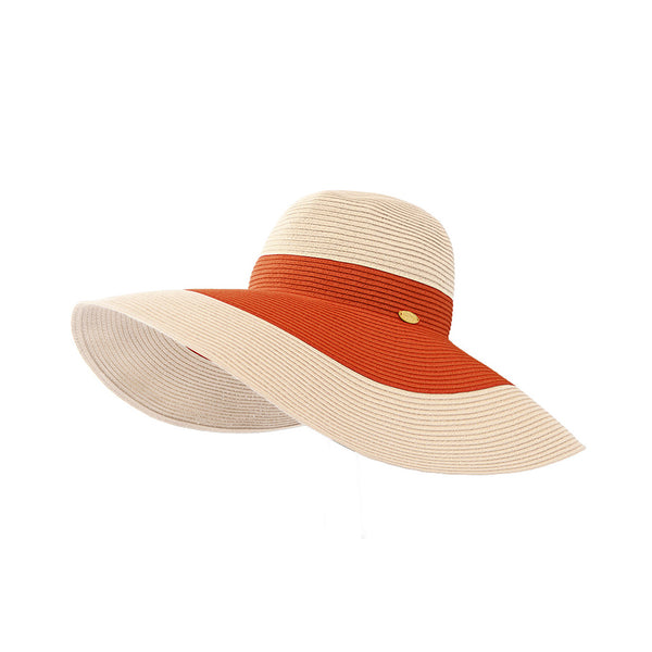 Women Beach Huge Brim Straw Swinger Hat UPF50+