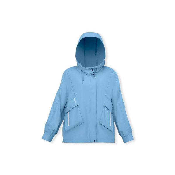 Women's Loose Cargo Sunscreen Hoodie UPF50+