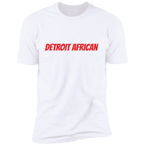 Image of Detroit African (Red)