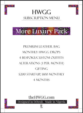 More Luxury Pack Subscription