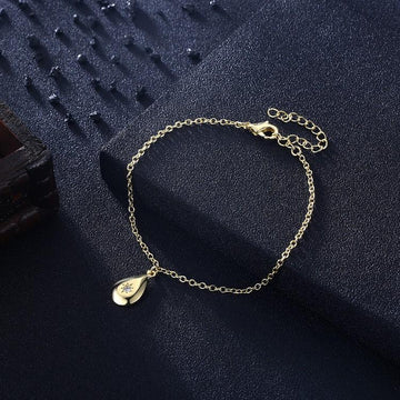 Teardrop Stargaze Bracelet in 18K Gold Plated
