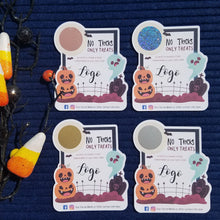Load image into Gallery viewer, No Tricks Only Treats Halloween Scratch Off Cards
