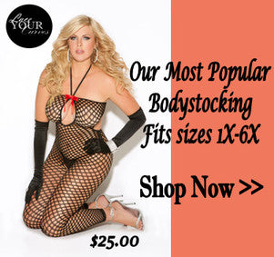 Seductive Crotchless Footless Bodystocking