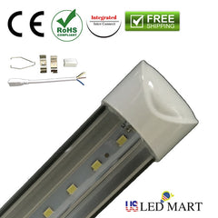 Replace old fixture with 2ft LED tube light fixture and save energy
