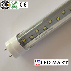 4ft 22w LED Tube Light 5000K DLC Approved