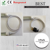 Interconncting LED tube light with fixture