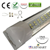 Replace flourescent fixtures with 8ft 44w Integrated LED tube light and save 80% of energy