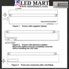 Wiring Diagram for LED retrofit with two end connection