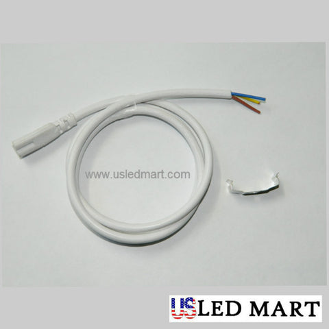 3ft 18w T8 LED Tube Light with Bracket(Integrated) - Natural White (Day Light) - 6500K