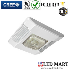 CREE CPY250-A-DM-F-B-UL-W Gas Station LED Canopy - Drop lens