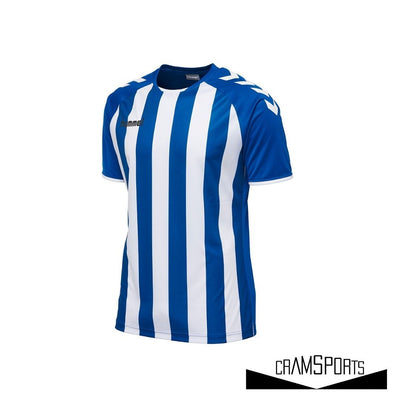 CORE STRIPED SS JERSEY NÑOS HUMMEL