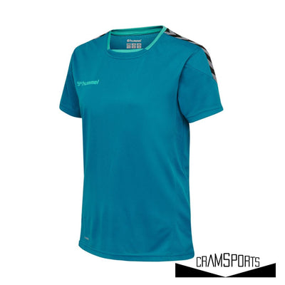HMLAUTHENTIC POLY JERSEY MUJER S/S HUMMEL