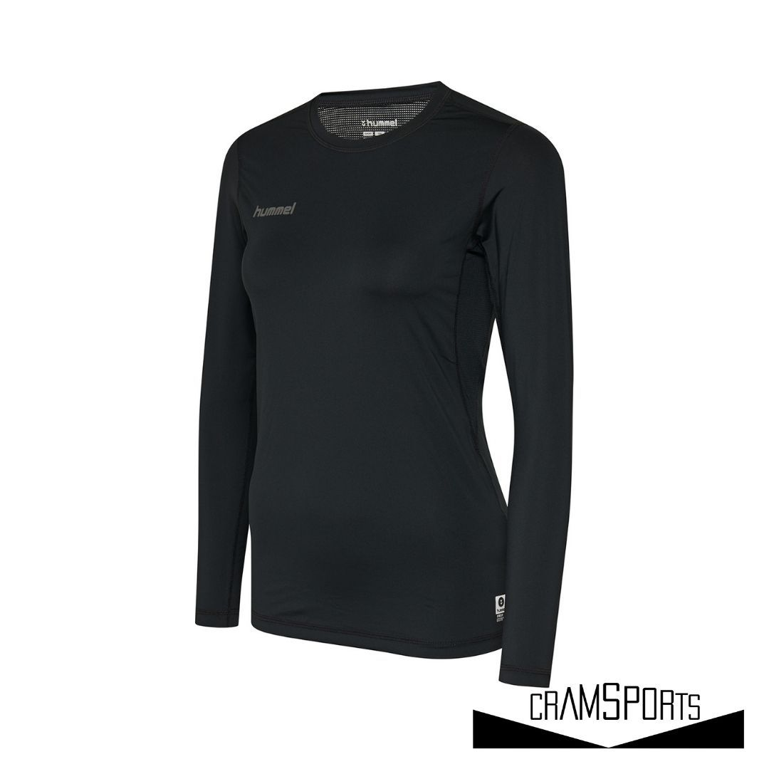 HML FIRST PERFORMANCE WOMEN JERSEY L/S HUMMEL