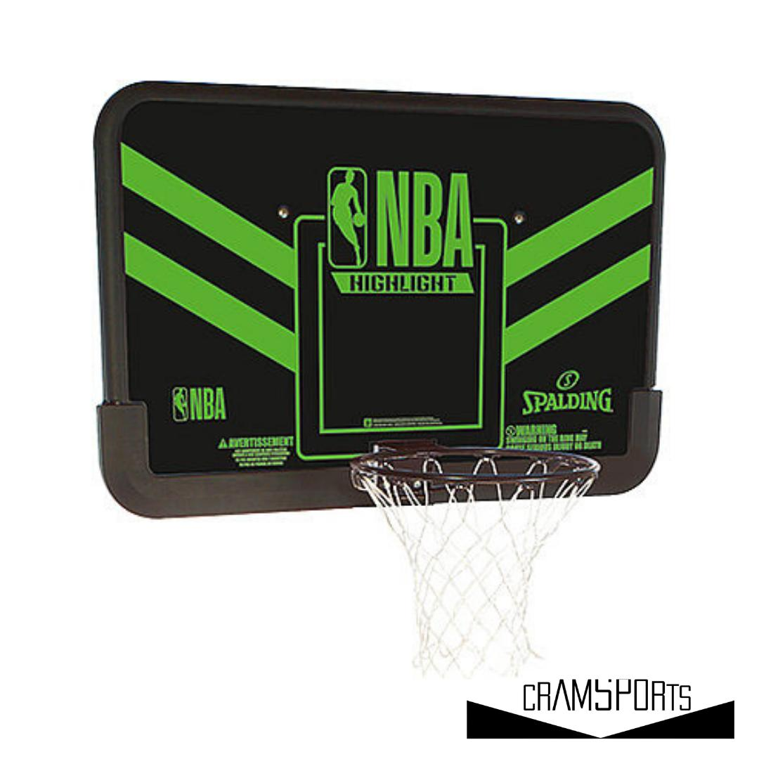 NBA HIGHLIGHT BACKBOARD SPALDING