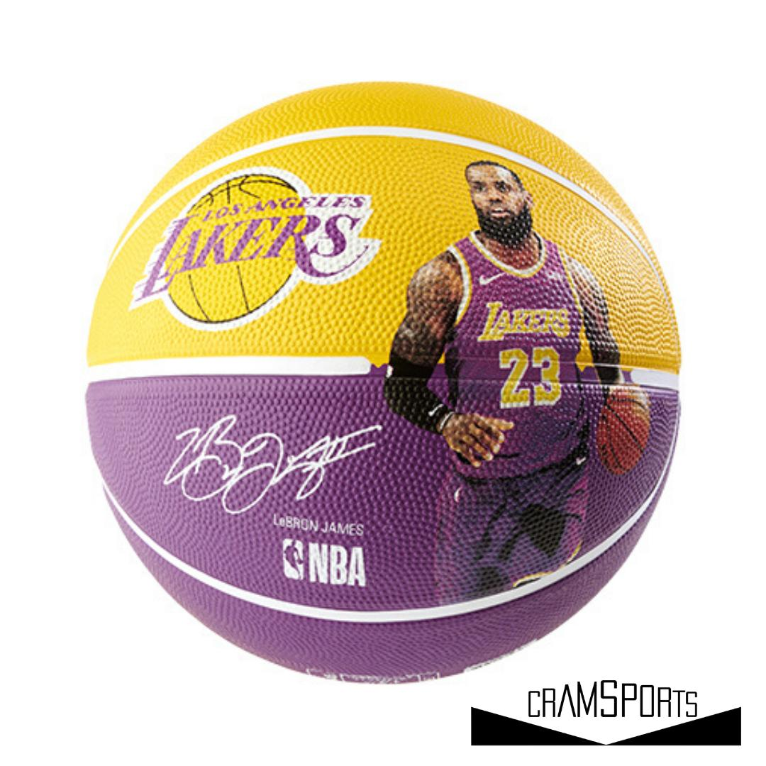 NBA PLAYER BALL LEBRON JAMES SPALDING 1