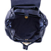 True Blue Laser Drawstring Backpack - Navy