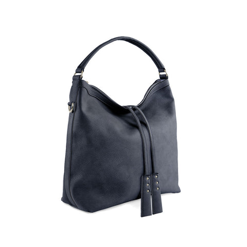 True Blue Large Hobo - Navy
