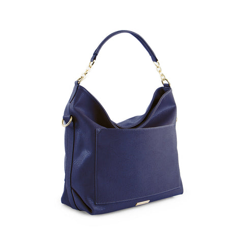 True Blue Hobo with Front Slip Pocket - Navy