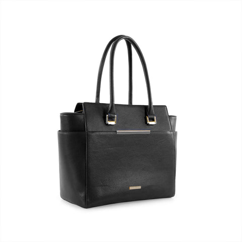 True Blue Large Work Tote - Black