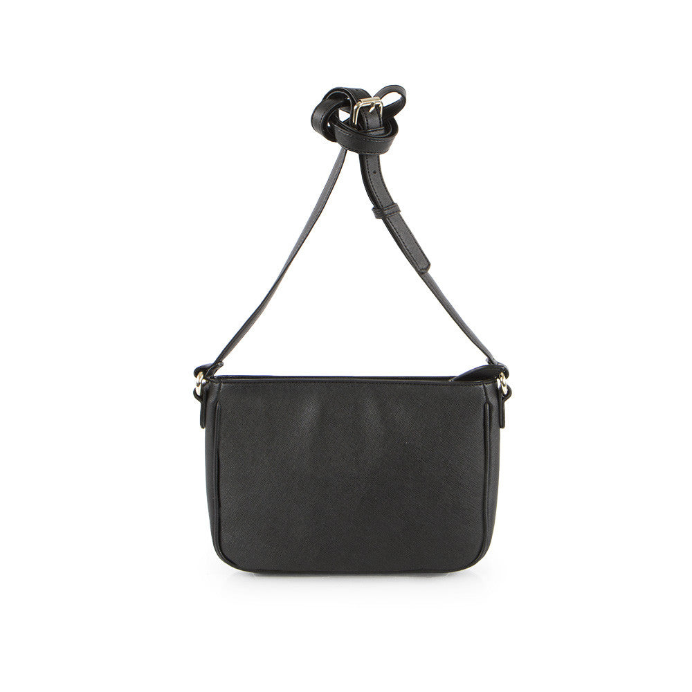 True Blue Laser Crossbody - Black